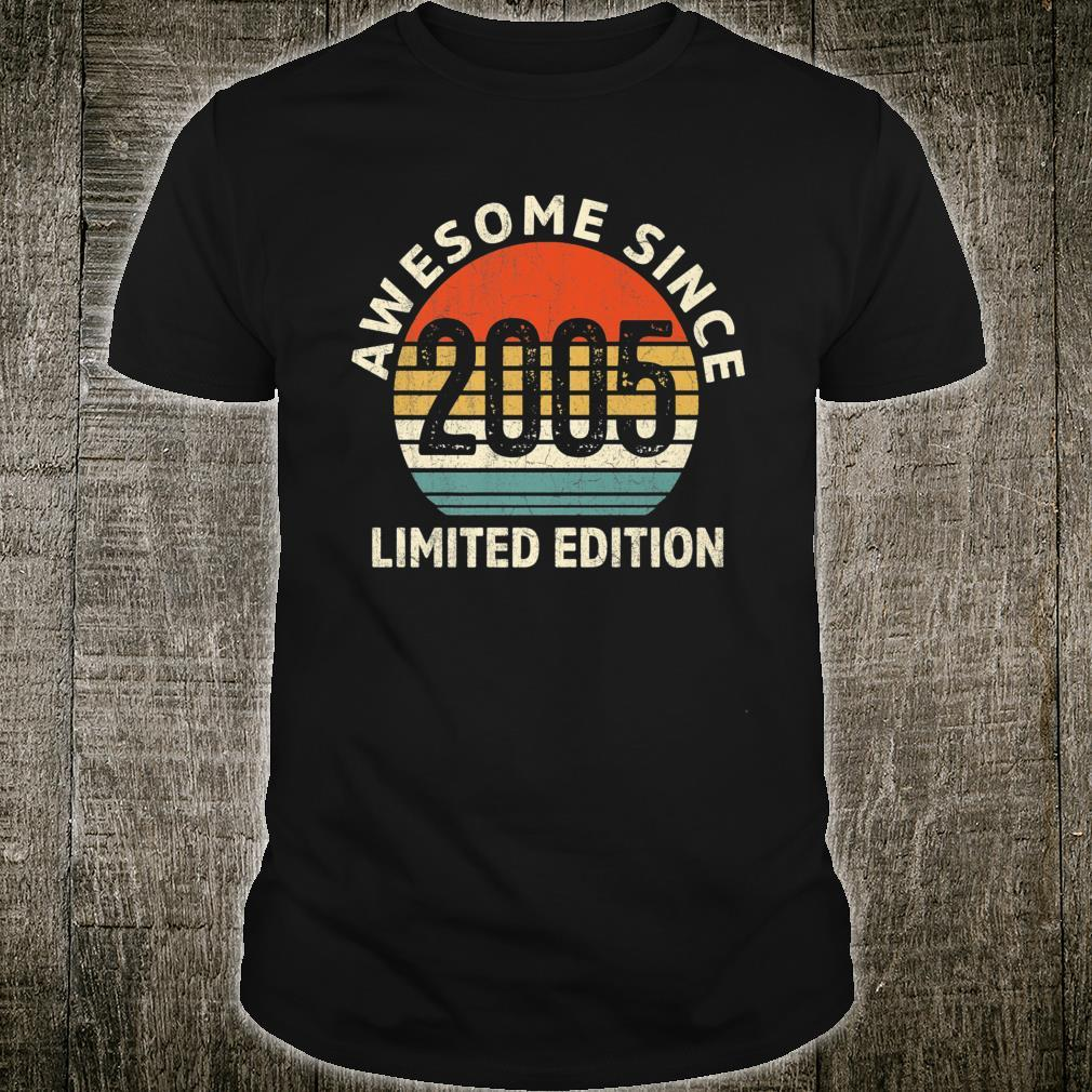 Vintage 2005 Limited Edition 16th Bday Shirt
