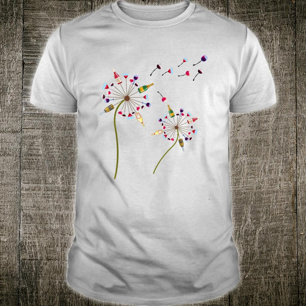 Wine Dandelion Drinking Shirt