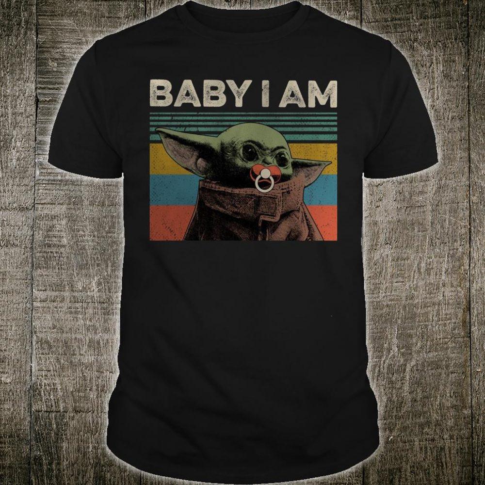 Yoda baby i am shirt